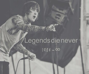 suicide silence, mitch lucker, and legend image