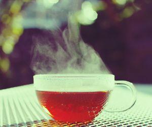 Hot, orange, and tea image