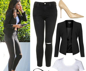 selena gomez, style, and outfits image
