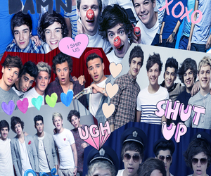 Collage, louis, and zayn image