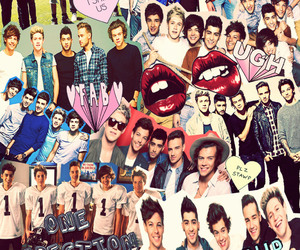 Collage, louis, and niall image