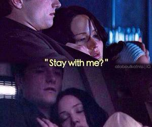 the hunger games, katniss, and josh hutcherson image