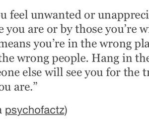 be yourself, empty, and unwanted image