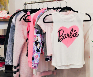 barbie, pink, and fashion image