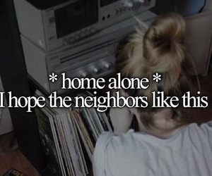 girl, song, and home alone image