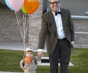 up, costume, and Halloween image
