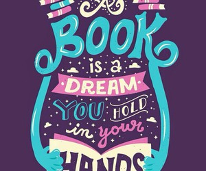 book, Dream, and hold image