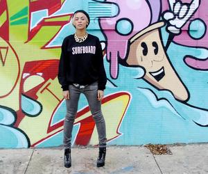 graffiti, surfboard, and swag image