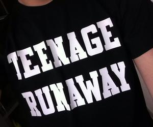 grunge, black, and runaway image