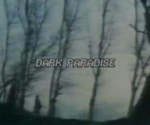 dark, grunge, and paradise image