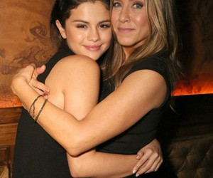 selena gomez, Jennifer Aniston, and selena image