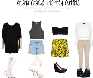 inspired, outfits, and ariana grande image