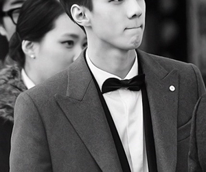 black and white, bw, and handsome image