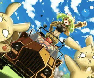 attack, bunny, and gumi image