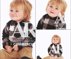 theo horan, model, and baby image