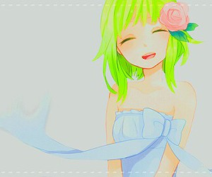 green, rose, and gumi image