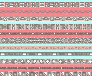 aztec, wallpaper, and blue image