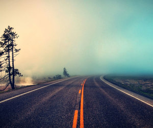 escape, photography, and road image