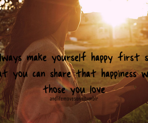 happiness and yourself image