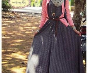 dresses, muslims, and hijab fashion image