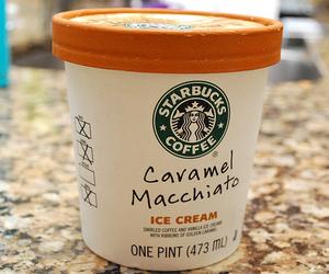 starbucks, food, and ice cream image