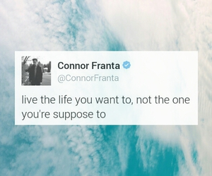 twitter and connor franta image