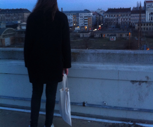 budapest, girl, and grunge image
