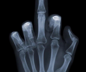 finger, funny, and human image