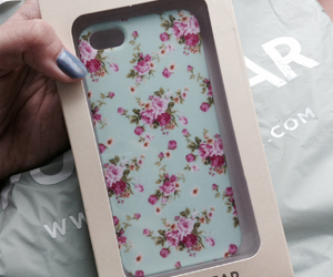 case, cool, and floral image