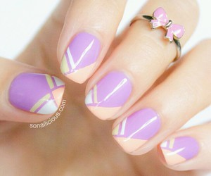 dp, nail art, and girly image