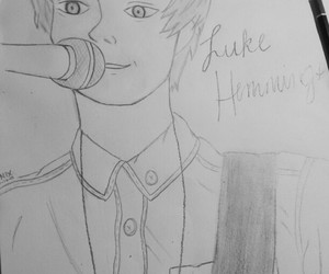 fanart, 5 seconds of summer, and michael clifford image
