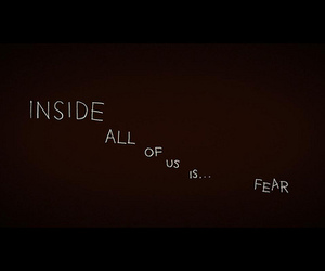 text, fear, and quote image