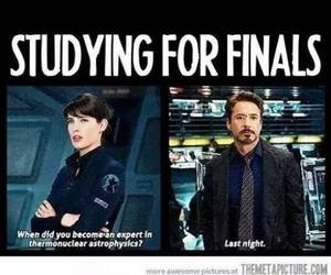 finals, Avengers, and funny image