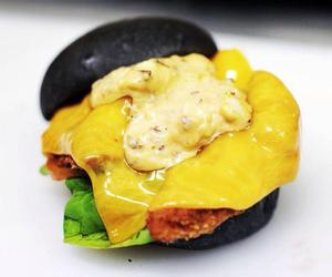 burger, Chicken, and egg image