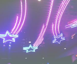 stars, neon, and light image