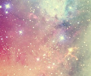 background, love, and galaxy image
