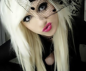 scene, blonde, and hair image