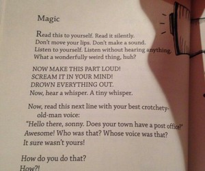books, magic, and words image