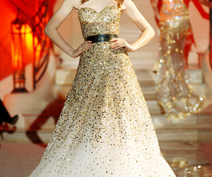 gown, wedding gown, and Zuhair Murad image