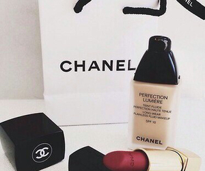 bag, shopping, and chanel image