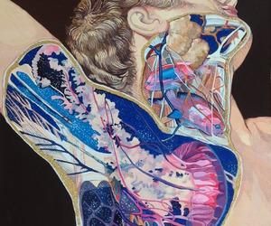 art, fish, and grunge image