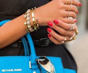 fashion, Michael Kors, and bag image