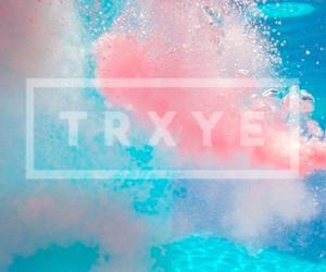 blue, pink, and trxye image