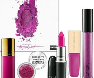 makeup, nicki minaj, and the pinkprint image