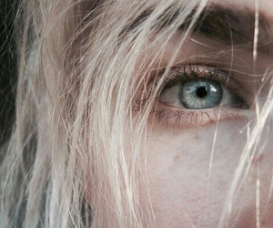 eyes, eye, and blonde image