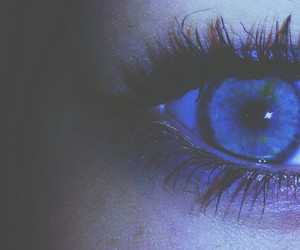blue, tired, and eyes image