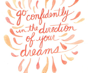 quote, dreams, and life image