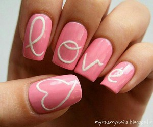 pretty nails, cute, and designed nails image