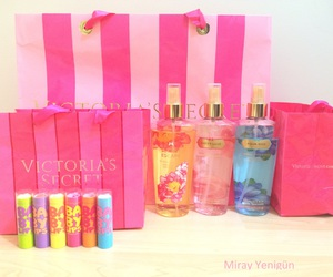 baby lips, pink, and Victoria's Secret image