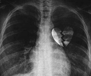 heart, broken, and broken heart image